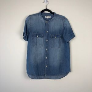 Madewell Jean button down size m